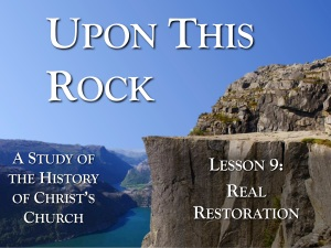 Lesson 9 - Real Restoration